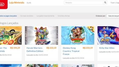 Foto de Loja digital do Nintendo Switch é oficialmente lançada no Brasil