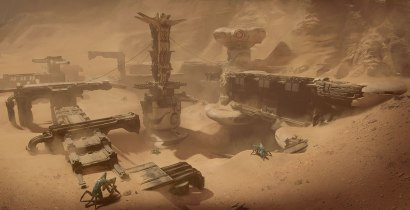 Far Cry 5 Lost on Mars Concept Art 2