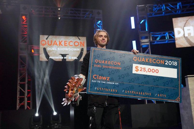 QuakeCon eSports - CLAWZ_DuelShowdown.Champion