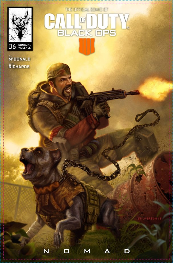 Call of Duty Black Ops 4 Comic Capa 06 Nomad