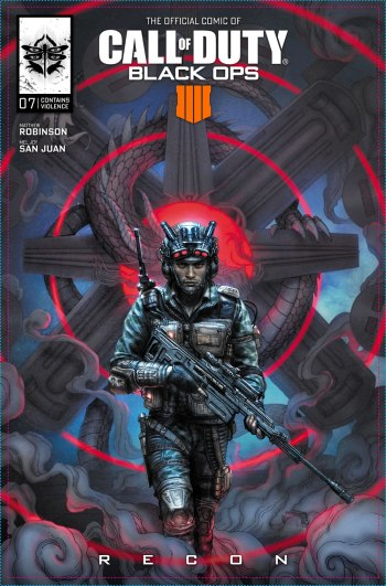 Call of Duty Black Ops 4 Comic Capa 07 Recon