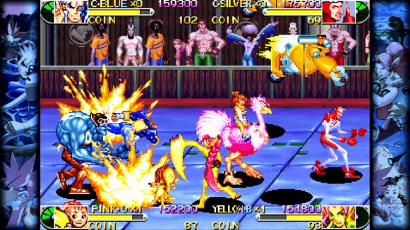 Capcom Beat'em Up Bundle - Battle_Circuit_1