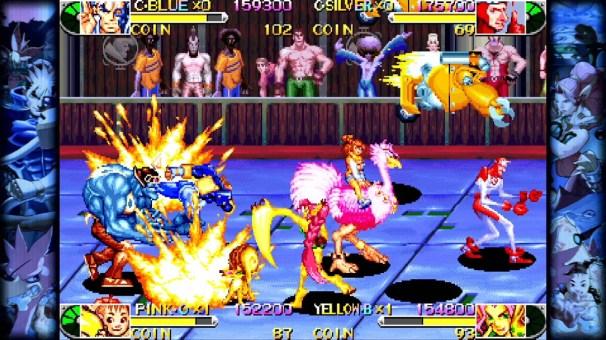 Capcom Beat'em Up Bundle - Battle_Circuit_1
