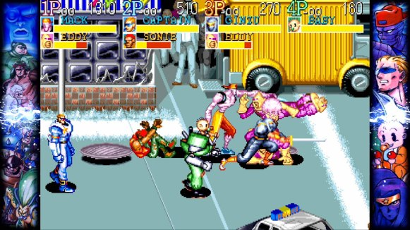 Capcom Beat'em Up Bundle - Captain_Commando_1