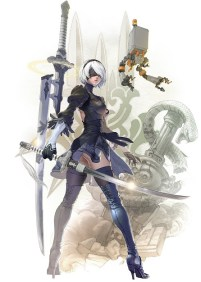 2B official Soul Calibur VI artwork