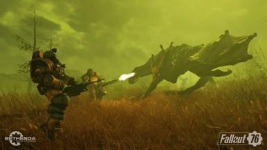 Fallout 76 Scorchbeast