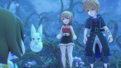 World of Final Fantasy Maxima story Lusse Farna