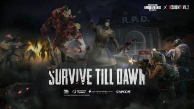 Foto de PUBG Mobile e Resident Evil 2 se unem em modo Survive Till Dawn