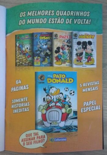 Pato Donald Ed Zero - Culturama - 13