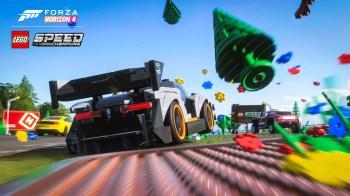 Forza Horizon 4 LEGO Speed Champions Crash Debris Screenshot