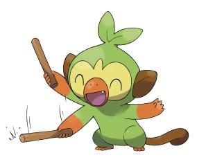 Pokemon Sword Shield - Grookey2_Ouistempo2_Chimpep