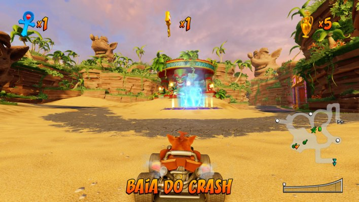 Crash Team Racing Nitro-Fueled analise review
