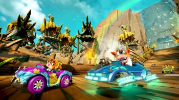 Crash Team Racing Nitro Fueled - Grand Prix Back N Time 003