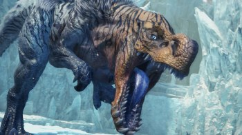 Monster Hunter World Iceborn - Fulgur Anjanath 02