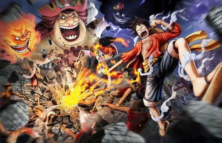 One Piece Pirate Warriors 4 key art