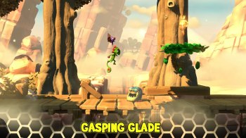 Yooka-Laylee and the Impossible Lair - Gasping Glade