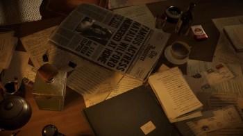 Blacksad Under the Skin - John desk