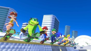 Mario and Sonic at the Olympic Games Tokyo 2020 Screen 03