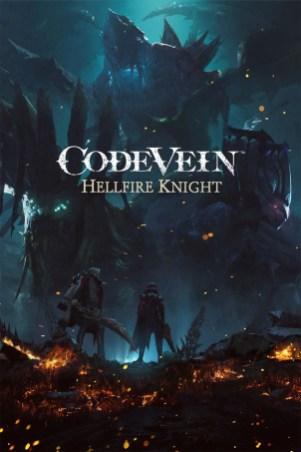 Code Vein Hellfire Knight Key Art