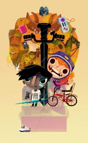Knights and Bikes Keyart 2