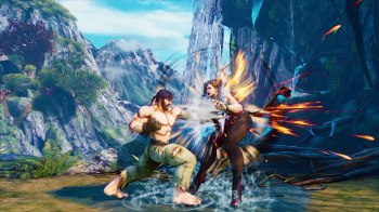 Street Fighter V Champion Edition - Ryu vs Chun-Li