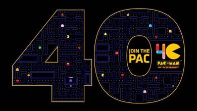 Foto de PAC-MAN, a estrela original dos videogames, celebra seu 40º aniversário