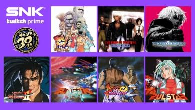 Photo of Twitch Prime vai oferecer sete jogos da SNK de graça