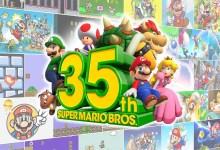 Foto de Anúncios da celebração dos 35 anos de Super Mario Bros