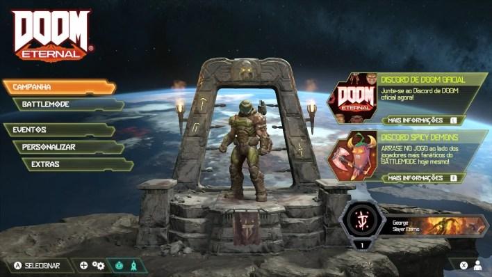 Doom Eternal - Modo Dock