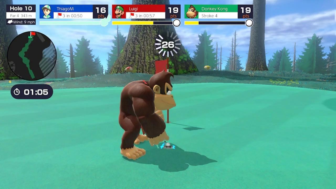 Analysis | Mario Golf: Super Rush — Portallos