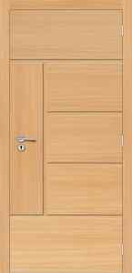Porta de Madeira Decorativa - Sólida - Alto Padrão - Portas Frisadas