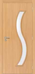 Portas de Madeira com Vidro - Portas Sólidas