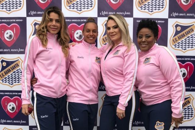 Patricia Limongie, Rosana Augusto, Karla Angelica e Vanessa Jackson - 01