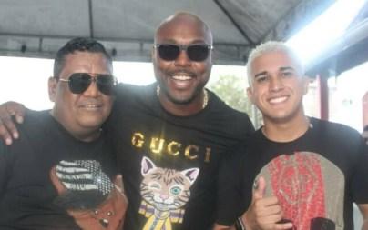 Alexandre Cabral , Rennan e Mc Moranguinho