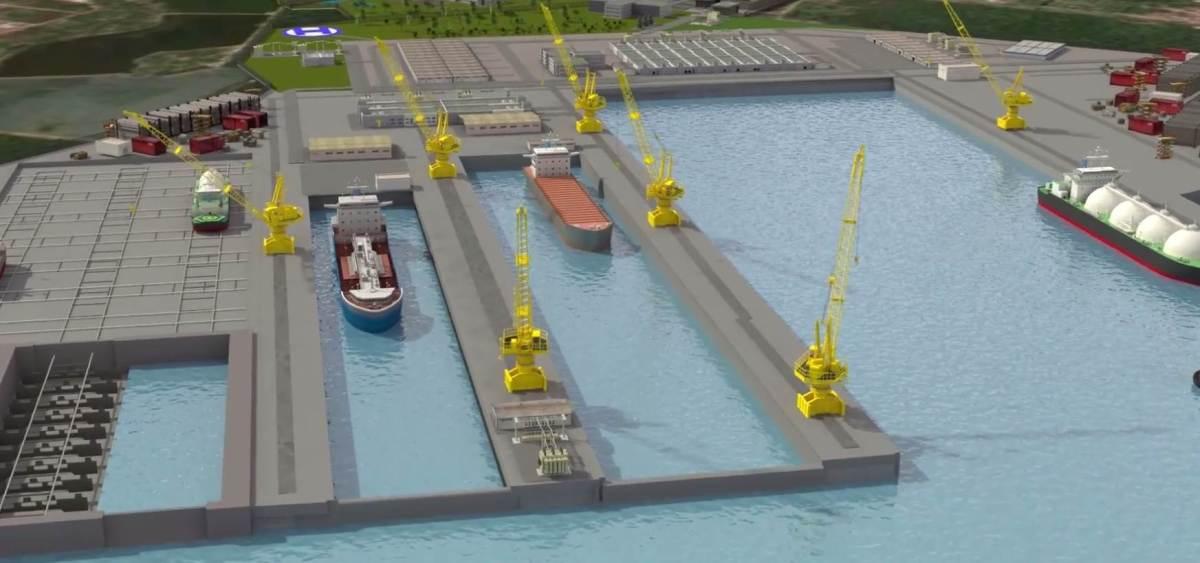 Novo estaleiro no Porto de Cabedelo vai iniciar obras em breve