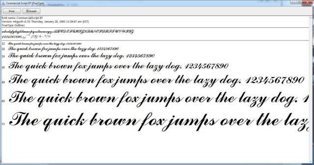 Windows - Instalar nuevo estilo de fuente en Windows - Fuente