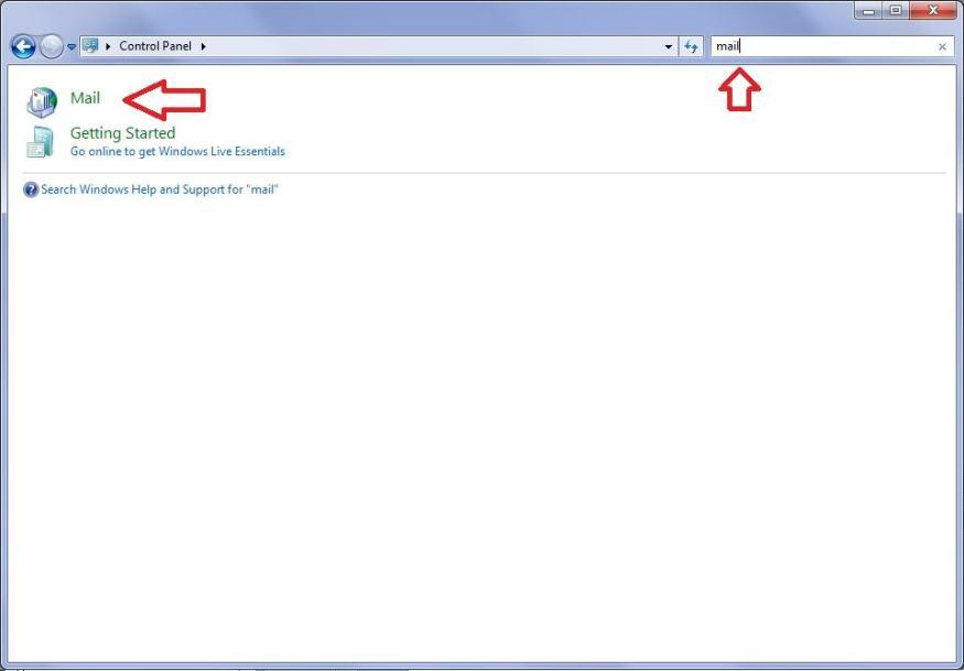 Restablecer Configuración de Microsoft Outlook en Windows - Mail