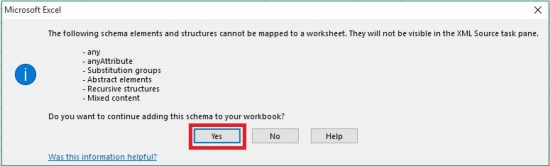 Importar XML a Excel - 6