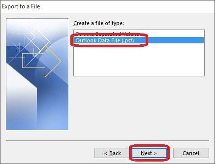 Respaldar Correo en Outlook 2013 - 4