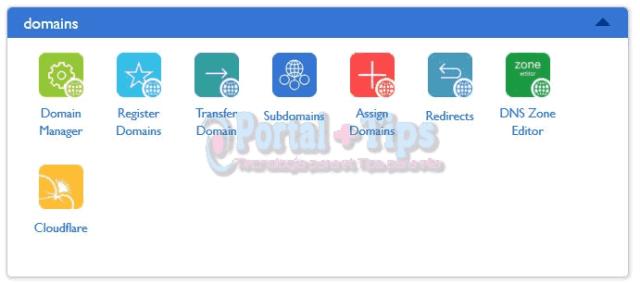 bluehost-cpanel-domains-menu