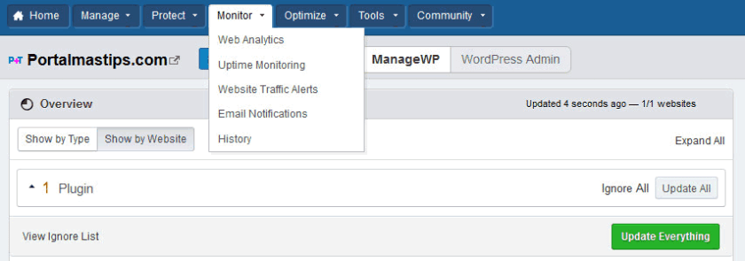 bluehost-managewp-monitor