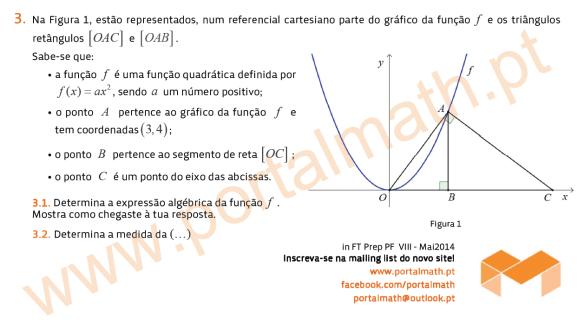 9Ano Preparação Prova Final Matemática Provas Modelo portalmath