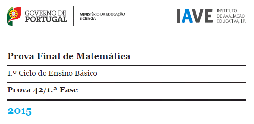 4Ano Prova Final Matemática - 20 maio 2015