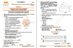 9º ano Provas Modelo Matemática Abril 2015 Caderno 1 portalmath