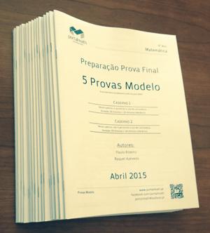 9Ano Provas Modelo Matemática 2015 - Preparação Prova Final