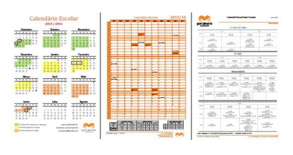 Calendário Escolar 2015/16