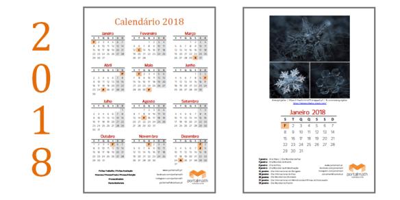 calendário portalmath 2018