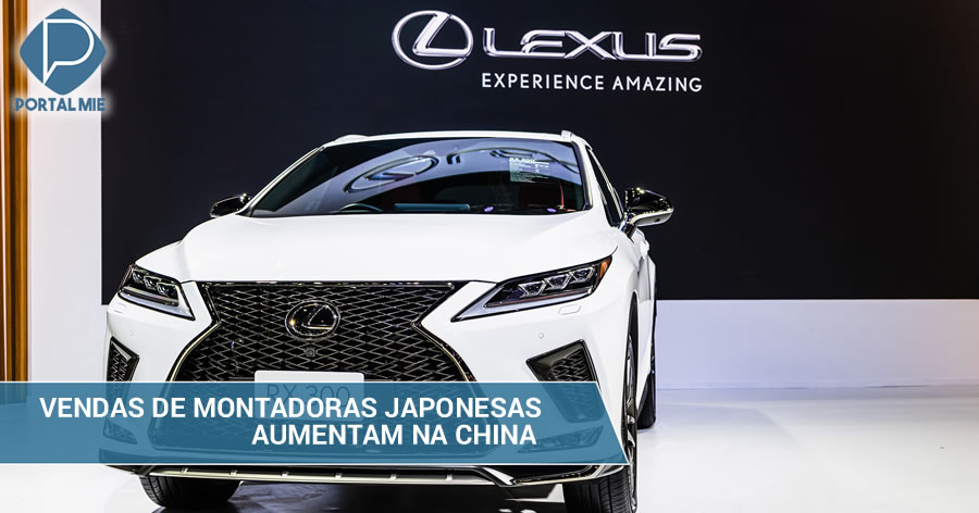 &nbspAumentam as vendas de montadoras japonesas na China