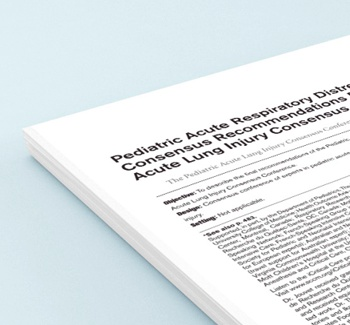 paper SDRA pediatrico PALICC 2015