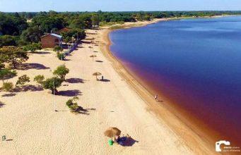 Cerrito la playa mas extensa del Paraguay